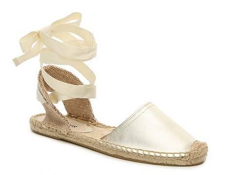 Soludos Classic Metallic Flat Sandal