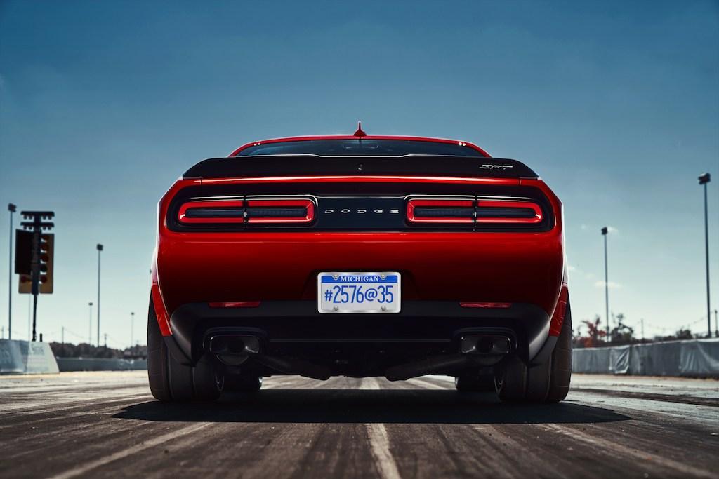 Dodge SRT Demon teaser   Dodge