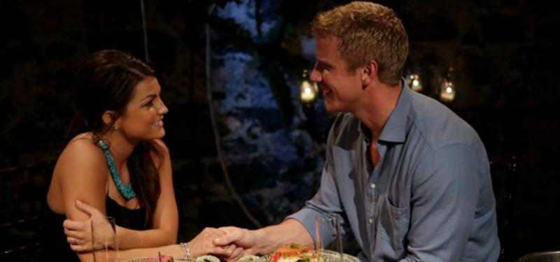 Sean Lowe and Sean Lowe having dinner
