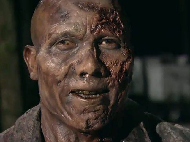 Hines Ward played a zombie in AMC's 'The Walking Dead'