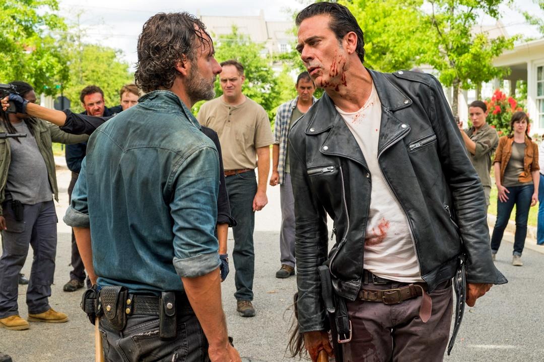 Rick and Negan'