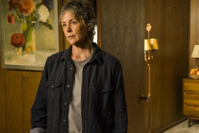 Melissa McBride as Carol Peletieron The Walking Dead