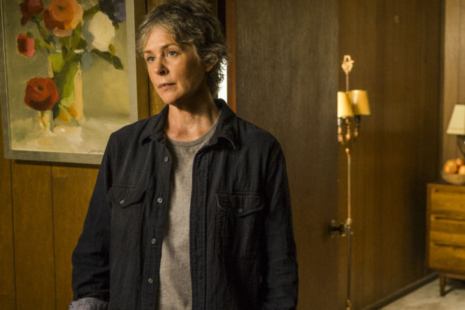Melissa McBride as Carol Peletier on The Walking Dead