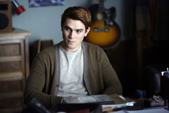 KJ Apa as Archie Andrews in The CW's Riverdale