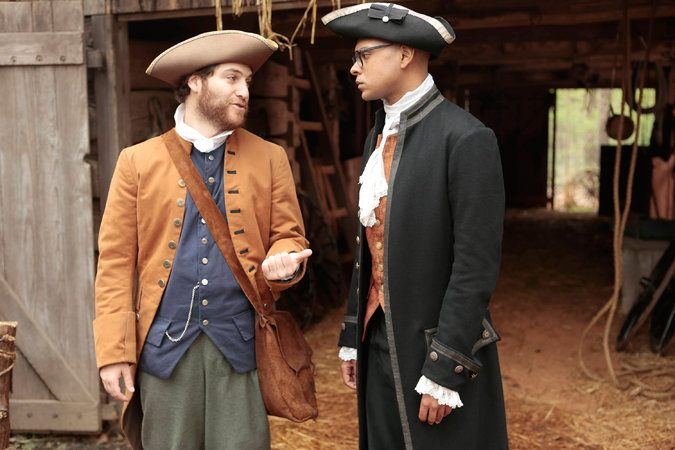 Adam Pally and Yassir Lester star in Fox's Making History