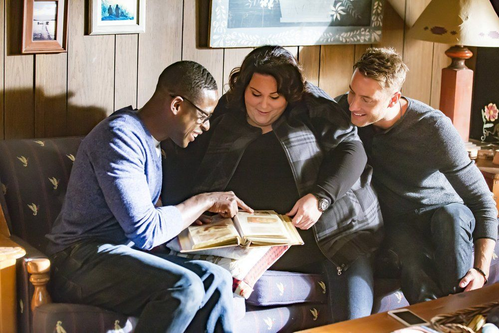 Sterling K. Brown, Chrissy Metz, and Justin Hartley play the Pearson siblings on NBC's This is Us