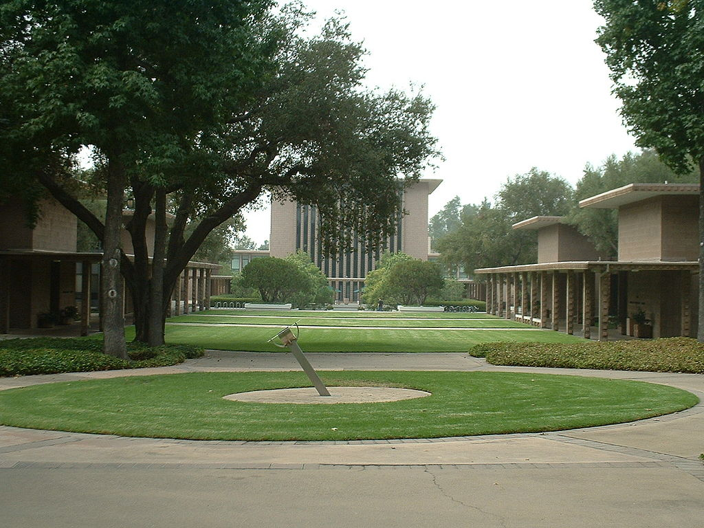 A view of the campus at Harvey Mudd College