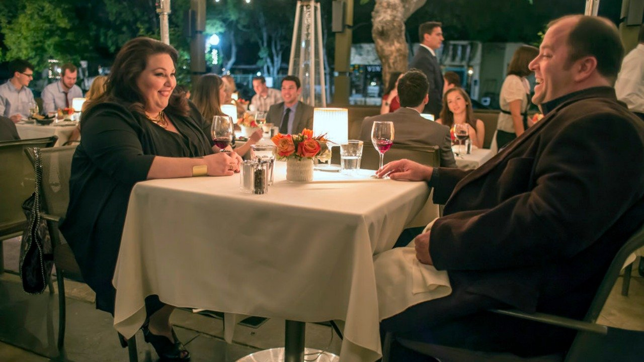 Chrissy Metz's Kate and Chris Sullivan's Toby go on a dinner date in NBC's This is Us