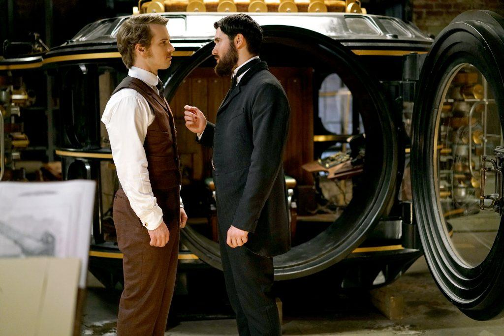 Freddie Stroma and Josh Bowman play H.G Wells and Jack the Ripper in ABC's Time After Time