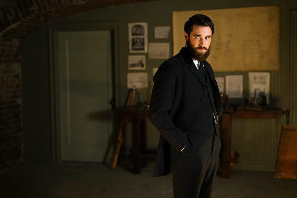 Josh Bowman as Jack the Ripper on Time After Time