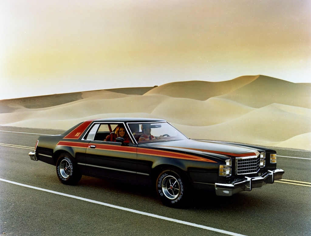 A vintage advertisement for the 1978 Ford LTD II