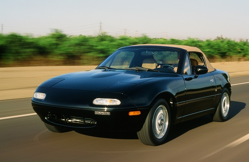1991 MX-5 Miata in British Racing Green, a special edition
