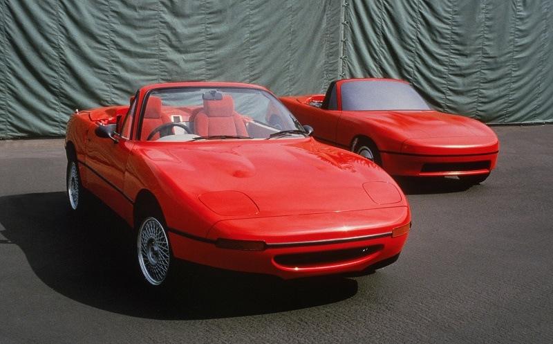 Early Mazda Miata development pics