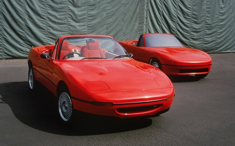 Early Mazda Miata development pics