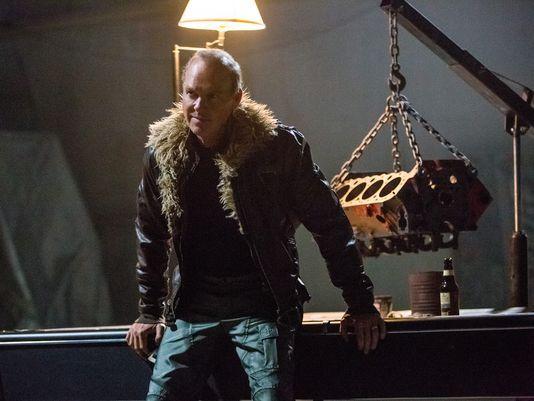 Michael Keaton as The Vulture in Spider-Man: Homecoming