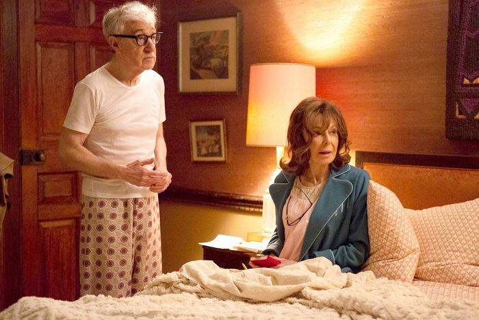 Woody Allen and Elaine may star in Amazon's Crisis in Six Scenes