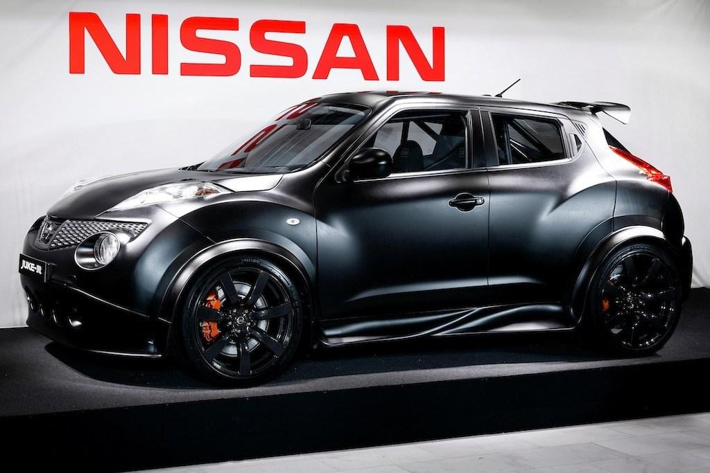 A Nissan Juke R on display