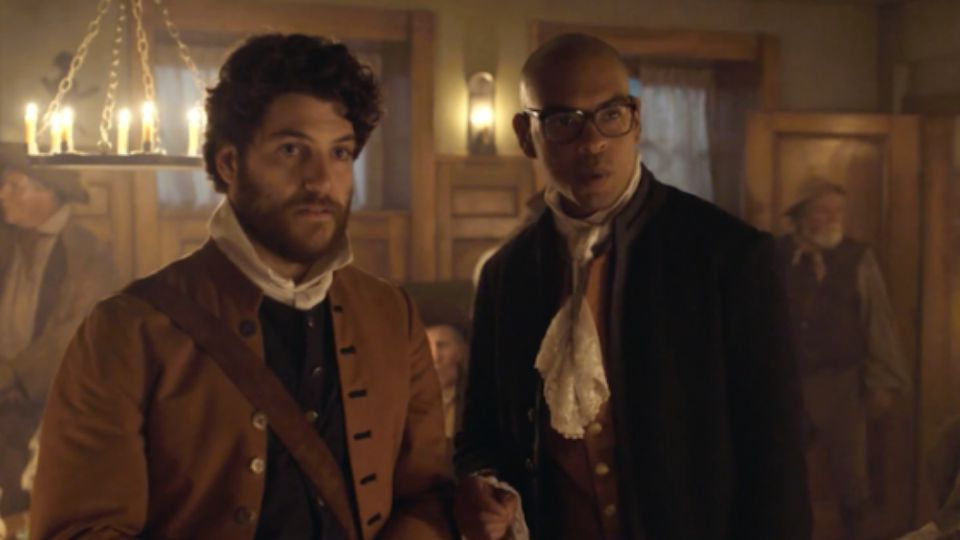 Adam Pally and Yassir Lester play time-traveling professors in Fox's Making History