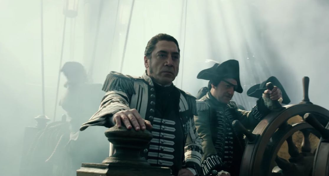 Javier Bardem in the new Pirates of the Caribbean trailer