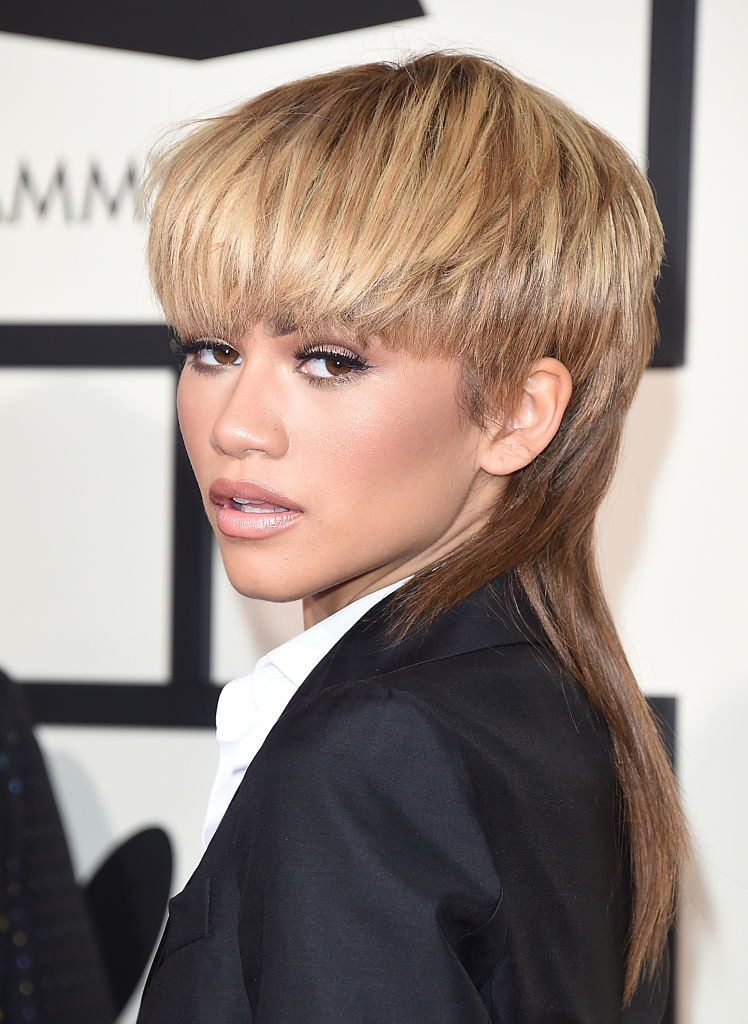 Actress-singer Zendaya attends The 58th GRAMMY Awards