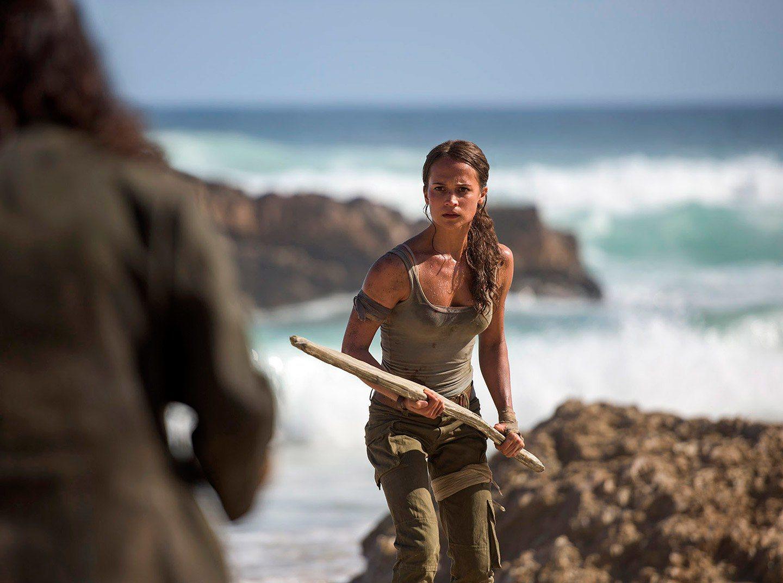Alice Vikander plays Lara Croft in the Tomb Raider reboot 