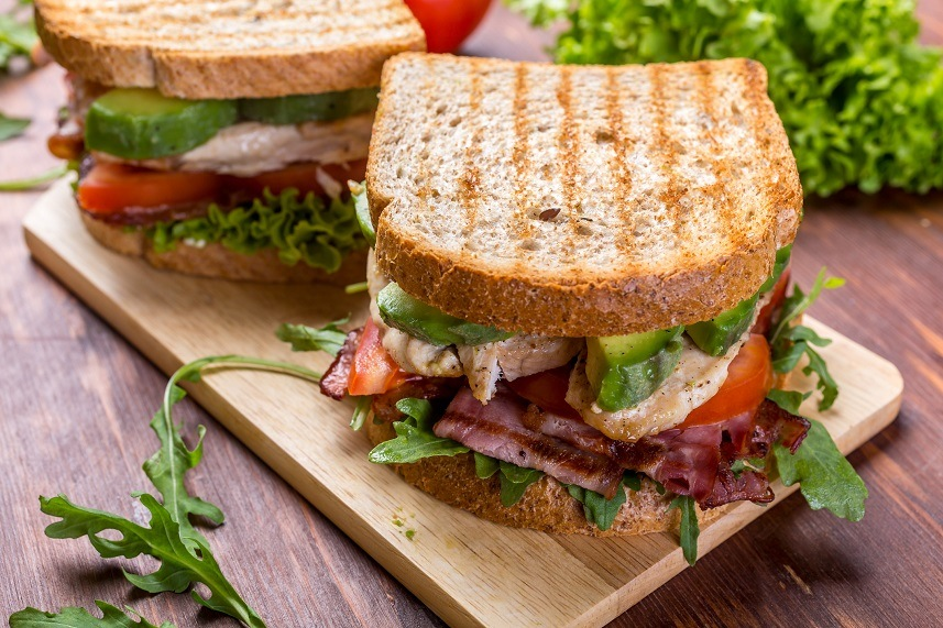 Lettuce and Tomato Sandwiches