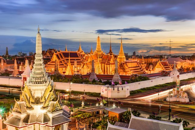 Thailand at the Temple of the Emerald Buddha