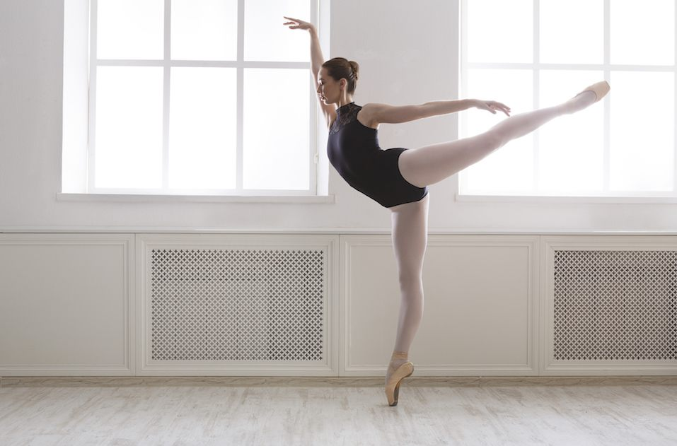 Classical Ballet dancer