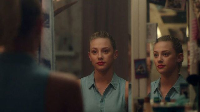 Lili Reinhart plays Betty Cooper in The CW's Riverdale