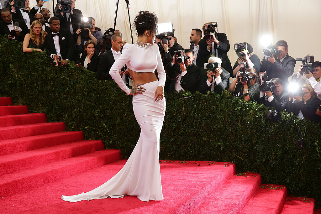 "Rihanna attends the ""Charles James: Beyond Fashion"" Costume Institute Gala"