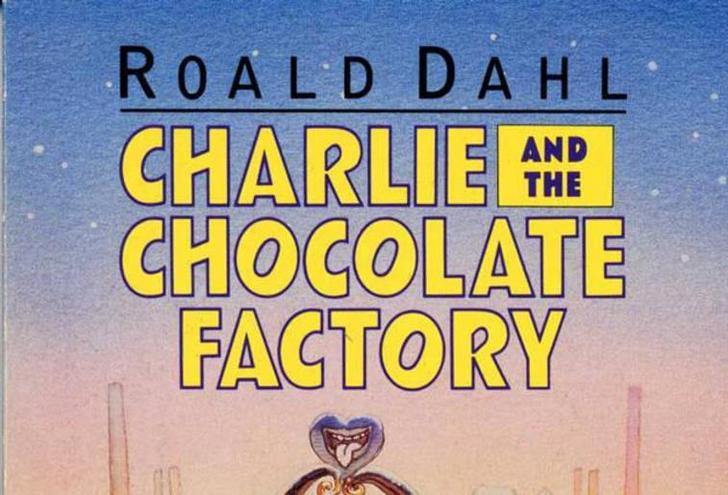 Charlie and the Chocolate Factory cover art