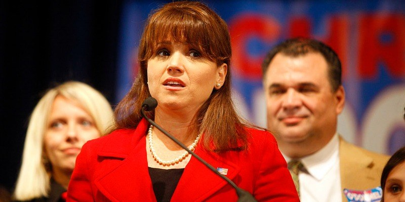 Republican U.S. Senate candidate Christine O'Donnell speaks to her supporters after losing the midterm election to Democratic nominee.