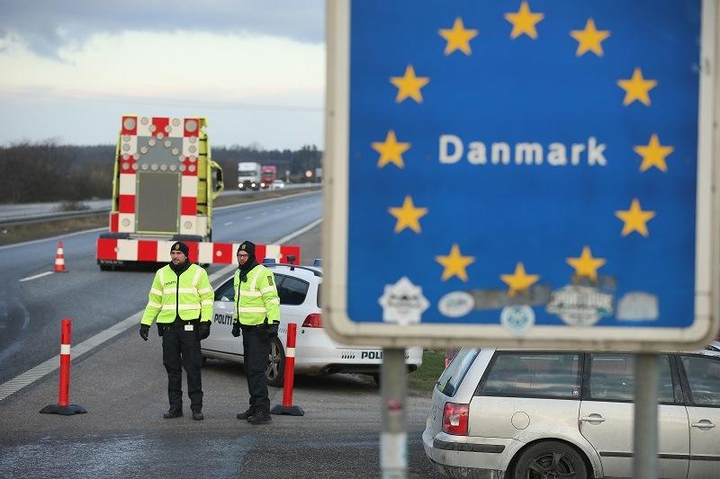 Danish police conducting spot checks