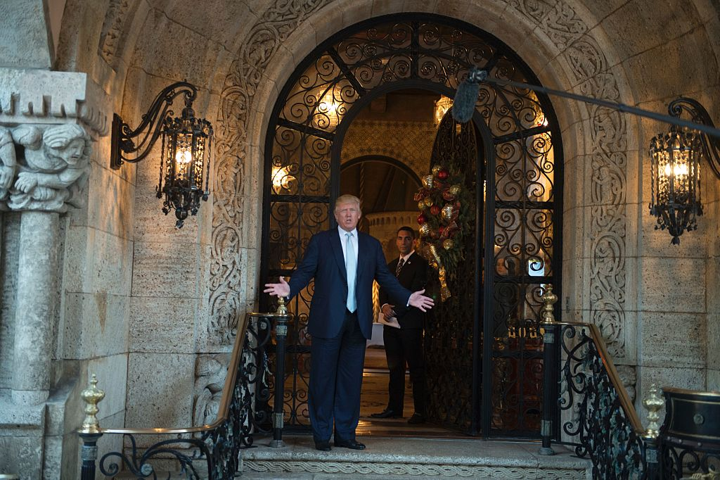 Donald Trump in Palm Beach, Florida