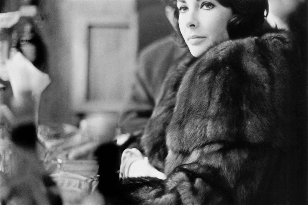 British-born American actress Elizabeth Taylor