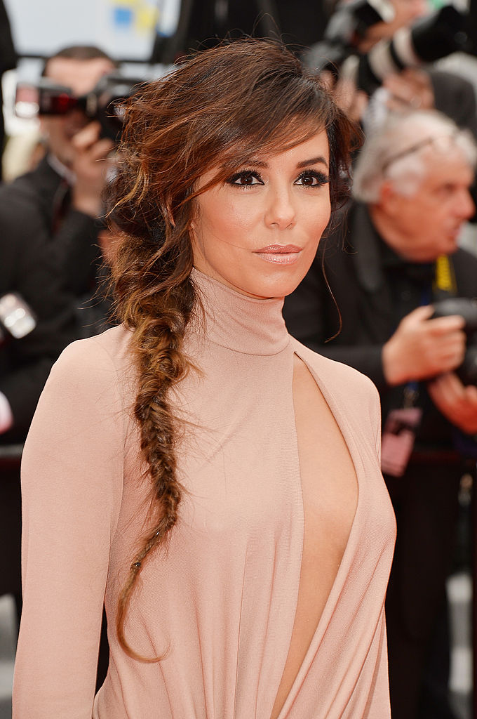 "Eva Longoria attends the ""Foxcatcher"" premiere"