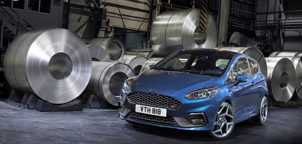 European-spec 2018 Ford Fiesta ST