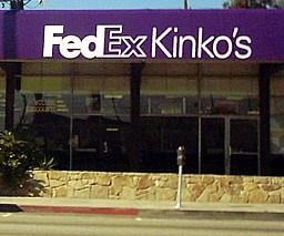 exterior of a FedEx Kinko's