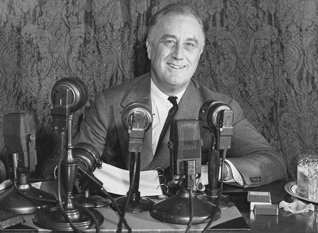United States president Franklin Delano Roosevelt