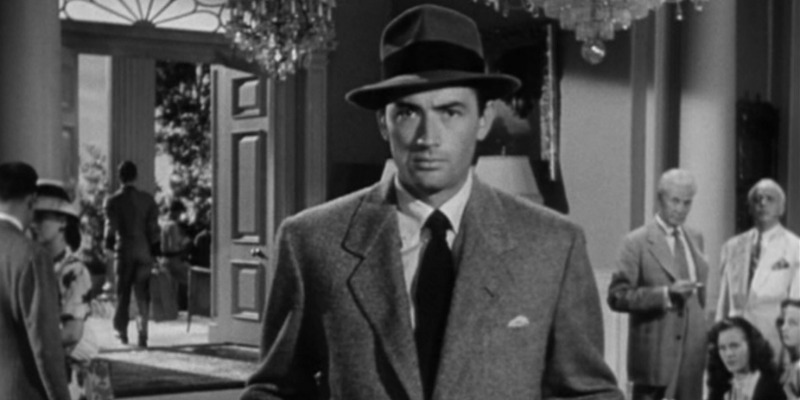 Gregory Peck in Gentleman's Agreement.