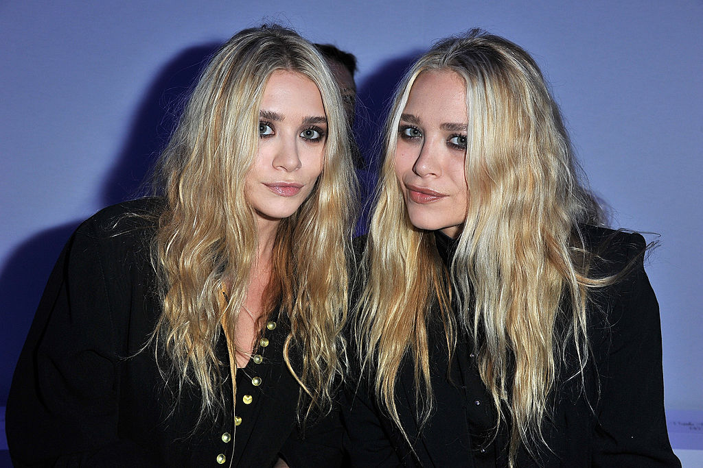 Mary Kate and Ashley Olsen on the red carpet