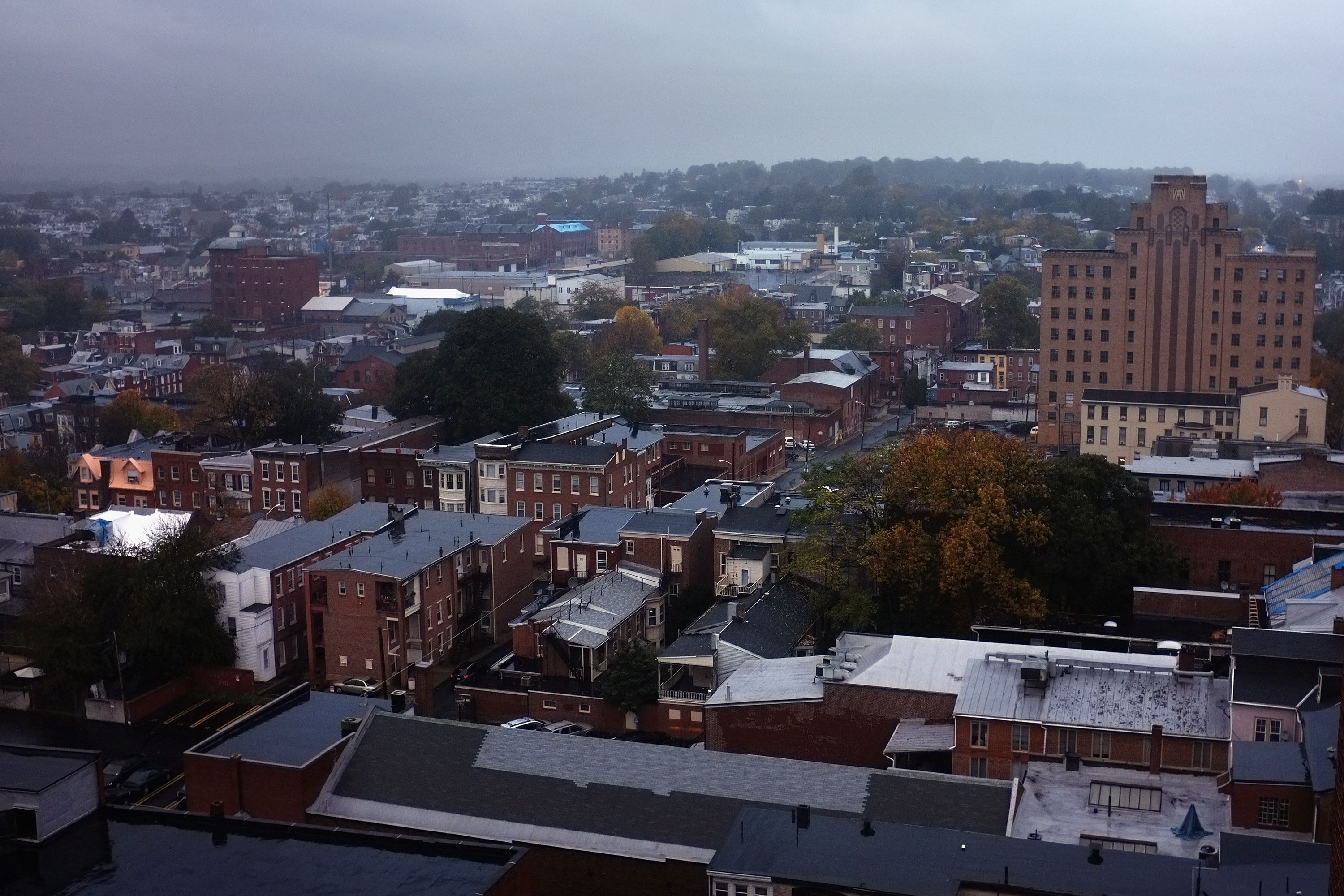 A view of downtown Reading
