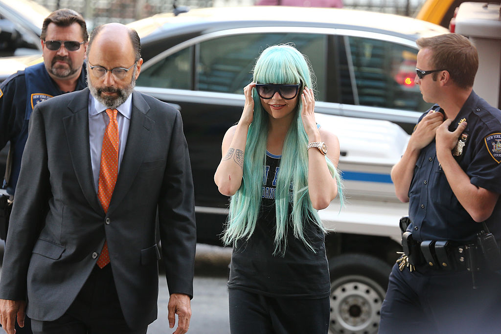 Amanda Bynes makes a court appearance in Manhattan