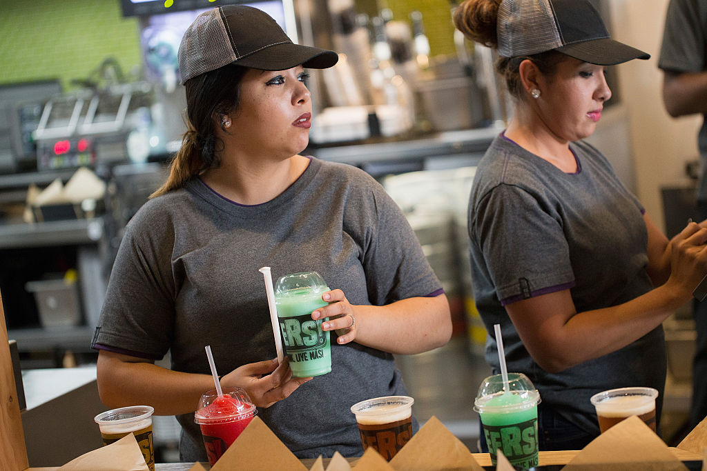 Taco Bell employees