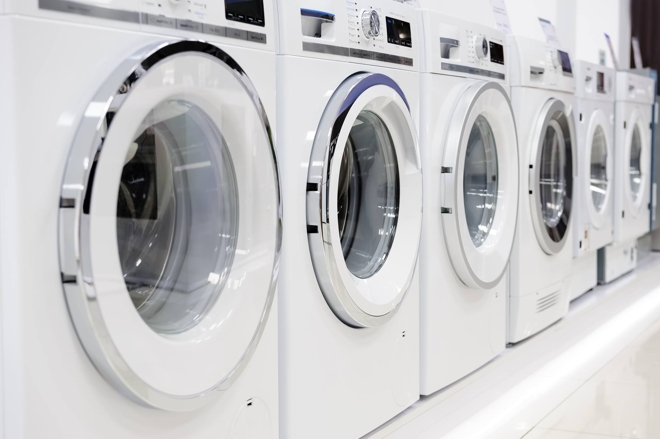 Washing machines and dryer