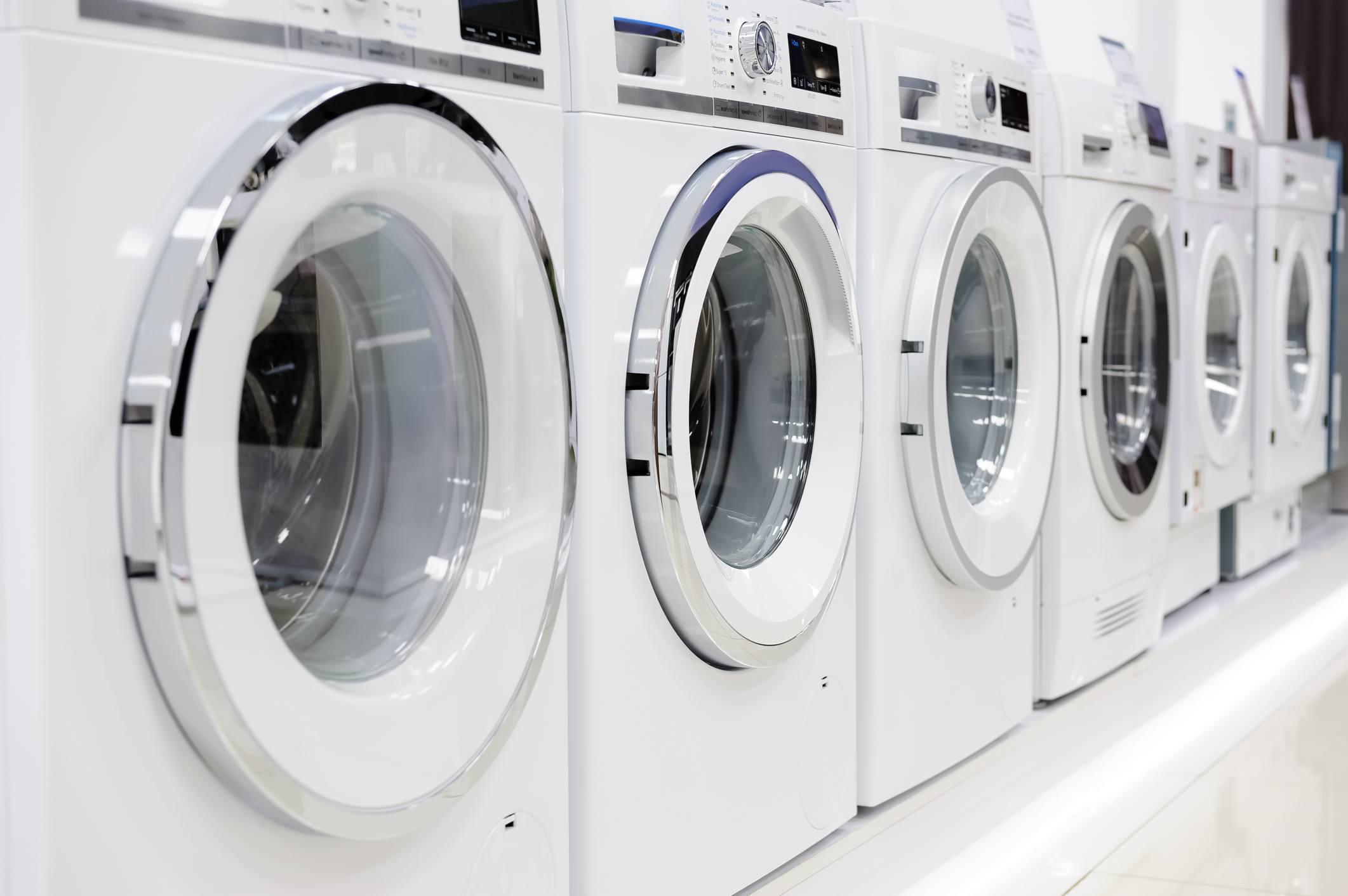 Washing machines and dryer
