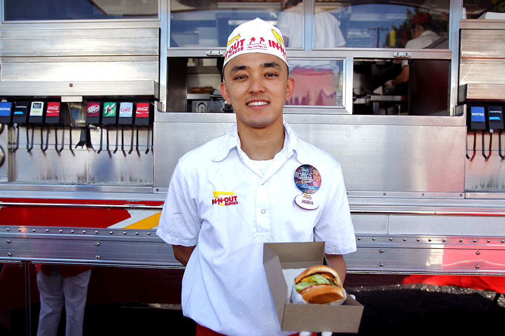 In-N-Out employee