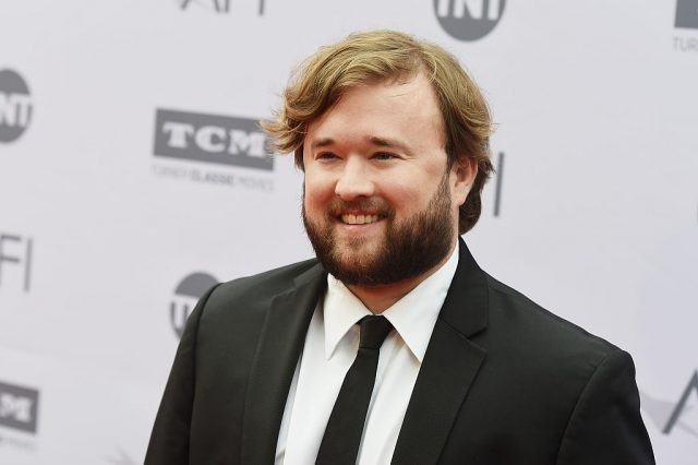 Haley Joel Osment on the red carpet.