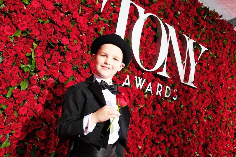 Iain Armitage attends the 70th Annual Tony Awards