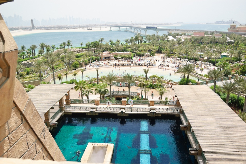 Waterpark of Atlantis the Palm hotel, Dubai,